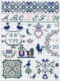 Gallery.ru / Фото #2 - Motif scandinaves traditionnel - Mongia