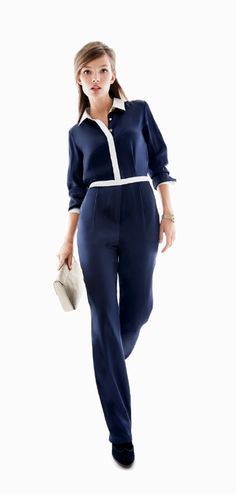 Leave it to Tommy Hilfiger to create an office-ready jumpsuit