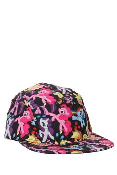 Stylish camper cap with colorful allover My Little Pony characters print. My Little Pony Clothes, My Little Pony Dolls, My Little Pony Characters, Little Sisters, Little Boys, My Little Pony Birthday Party, Puff Girl, My Little Pony Friendship, Hot Topic