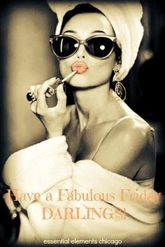Lips stick on, sunglasses on and my Friday attitude on. Happy Friday