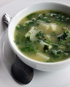 Detox With a Quick Watercress Soup- Use Sriracha Tofu