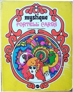 WHERE ARE YOU NOW?? Got these as a gift when I was about 5...Mystique Fortell Cards game packaging 1969