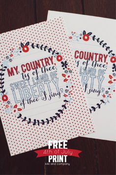 Love this Fourth of July print at Kiki and Company