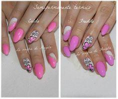 Mesauda Thermo gel polish (pink-lavander)
