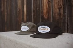 The 'Trademark' Hat   Available in Olive and Black