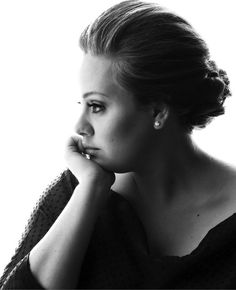 "Adele - Every time I hear her sing ""Someone Like You"" a part of me wants to cry."