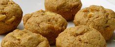 Double Apple Oat Muffins - #Vegan #Glutenfree