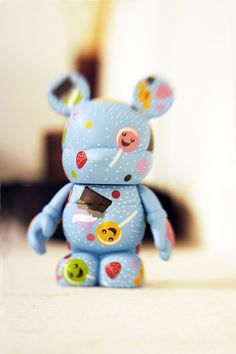 Happy Lollipops Lensbaby by Vinylmation Addict, via Flickr