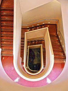 Marin County Civic Center stairs
