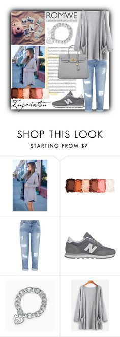 """""""Romwe Cardigan!"""" by bgirl20 ❤ liked on Polyvore featuring NYX, Miss Selfridge, New Balance, Tiffany & Co. and Hermès"""