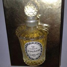 Rare Vintage Guerlain Shalimar 1987 Collector Item 30 ml In Louis XVI Bottle | eBay
