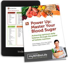 Holistic Nutritionist's New eBook Takes on #BloodSugar Management - See more at: http://www.mywholelife.ca/?p=4615