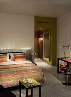.The seriously funky G&V Royal Mile Hotel, Edinburgh (formally Hotel Missoni)...