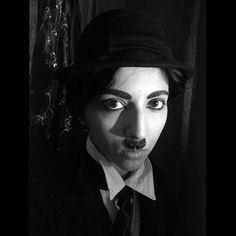 Chaplin makeup