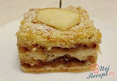 NapadyNavody.sk | Sypaná hrnčeková buchta s jablkami Czech Recipes, Ethnic Recipes, Bake Sale, Apple Pie, Vanilla Cake, Tiramisu, French Toast, Muffin, Food And Drink