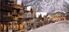 In the '60s, the logging town of Leavenworth, Wash., decided to go Bavarian.