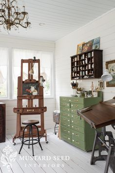 evolving workspaces – Miss Mustard Seed – Creative Home Office Design