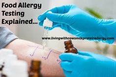 Allergy Tests For Food Explained Skin prick testing, blood tests and oral challenges, food allergy testing is not straight forward, food allergy tests.