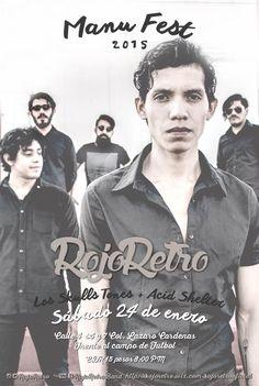 fotografía y diseño Alicia Rocha - Interiora #RojoRetro #Music #Band #art #illustracion #interiora #graphicdesign