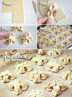 Apple Jasmine Cookie Rezept, How To - Weibliche Rezepte, How To Make Bread, Food To Make, Pie Crust Designs, Turkey Cake, Bread Cake, Bread And Pastries, Pastry Recipes, Special Recipes, Desert Recipes