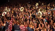 Stagecoach is the most thriving country music festival in America. Hear about it's journey to the top here: Stagecoach Festival, Eric Church, Open Arms, Home And Away, Burn Calories, Country Music, American Flag, Cowboy Hats, History