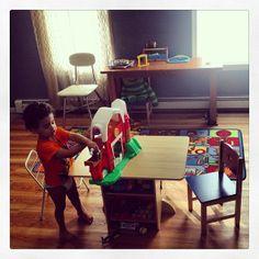 KidKraft Star Table and Chair Set #kidkraft #kidsfurniture #kids & Uptown Natural Kitchen #kidkraft #playkitchens #kidkraftkitchens ...