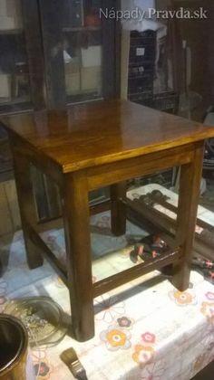 Renovácia stoličky - hokerlíka (fotopostup)