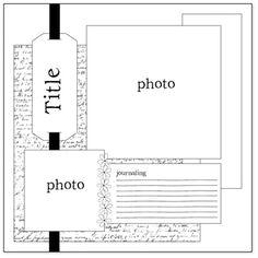July MSC Sketch #1 - Scrapbook.com