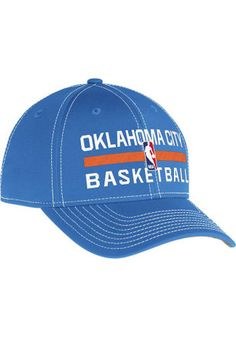 detailed look 7f3aa ab457 Adidas Oklahoma City Thunder Mens Grey Authentic Practice Adjustable Hat  Oklahoma City Thunder, Kansas City