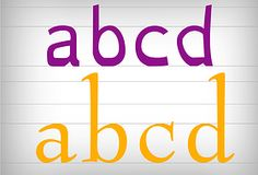 Fonts4Dyslexia - Educational Dyslexia Fonts - Fonts 4 Dyslexia | Features