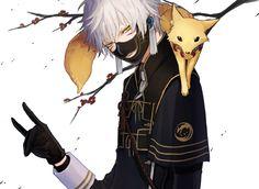 touken ranbu | Tags: Anime, Yanmada, Touken Ranbu, Nakigitsune (Touken Ranbu), Fox