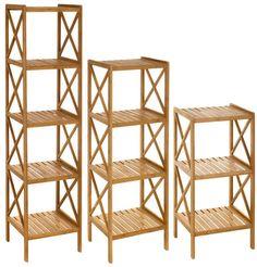 Estanterías de bambú