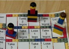 Downloadable Lego Game Board