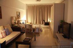 зонирование спальня-гостиная
