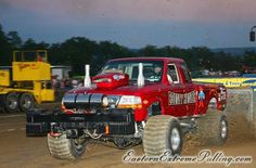 Truck And Tractor Pull, Tractor Pulling, Full Pull, Pickup Trucks, Ford Trucks, Truck Pulls, Logging Equipment, Ford 4x4, Race Day