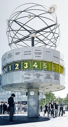 world clock in berlin.