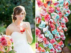 A Handmade Garden Wedding: Hallie + Luke