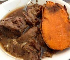 Paleo Slow Cooker Teriyaki Lamb Lamb Recipes, Paleo Recipes, Boneless Leg Of Lamb, Low Sodium Soy Sauce, How To Eat Paleo, Original Recipe, Cooking Time, Slow Cooker, Stuffed Peppers