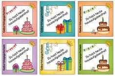Ideenreise: Hausigutscheine für den Geburtstag