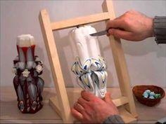 Confectionare lumanari sculptate tip candela - Carved Candles