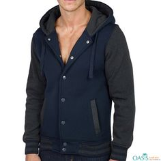 b5e253eca Wholesale Smart Dark Blue Varsity Jacket Manufacturer   Suppliers