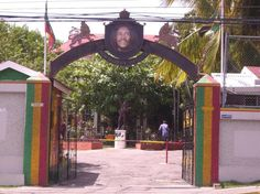 Bob Marley house and museum in Jamacia.--Been to the island 3 times, but haven't done any of the Marley tours!
