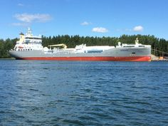 Oil tanker, Inkoo archipelago, Finland