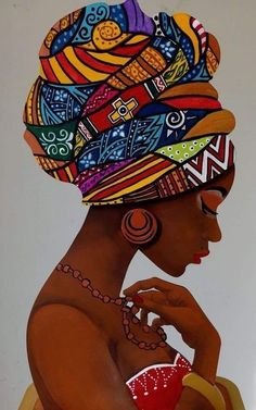 You cant unwrap that many civilizations in one place and expect peace. You have to demand your own space. That space is your life where you are the mother of civilization and no one else. Black Art Painting, Black Artwork, Woman Painting, Black Love Art, Black Girl Art, African American Art, African Women, African Life, African Art Paintings