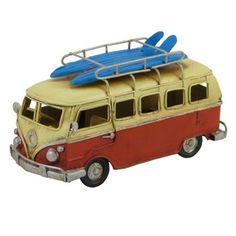 Red Model Kombi Van - mini size model