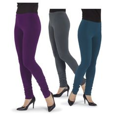 Ruched Leggings | Pyramid Collection