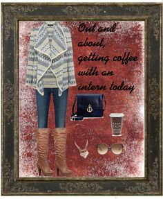 """""""Coffee with an Intern"""" by cbslifestylist on Polyvore"""