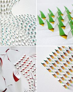 These amazing creations are the work of Sydney-based artist Lisa Rodden. Beautiful!