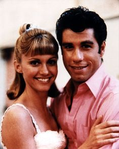Olivia Newton John and John Travolta! Grease is like the ultimate teenage movie! Like legendary! And so are Sandy and Danny! John Travolta, Grease 1978, Grease Movie, Grease Actors, Grease Theme, Grease 2, Danny And Sandy Grease, Danny Grease, Best Movie Couples