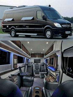 When you have a minivan, you can do many things into it since it gives you a spacious spot. You can create your camping minivan to have fun with your family. This minivan can serve you the camping ideas due… Continue Reading → Mini Vans, Van Camping, Luxury Van, Luxury Yachts, Luxury Motorhomes, Monospace, Camping Organization, Organization Ideas, Lux Cars